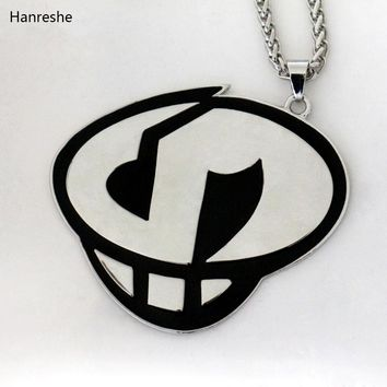 HANRESHE New in 2Colors Pokemon Sun and Moon Team Skull Grunts Game Hip hop Steampunk Chain Necklace fashion jewelry