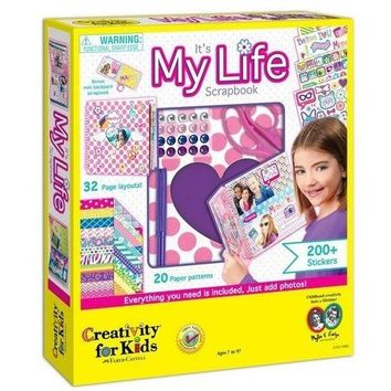 Creativity For Kids Its My Life Scrapbook Kit