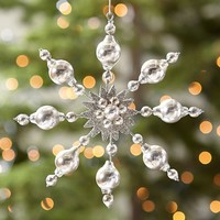 Snowflake Burst Ornament
