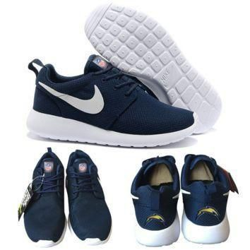 Tagre™ Nike San Diego Chargers London Olympics Navy Blue Shoes