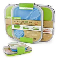 Smart Planet Eco Lunch Box Combo Blue Green