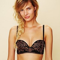 Free People Embroidered Bra