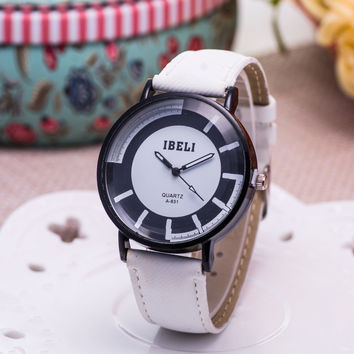 Trendy Good Price New Arrival Designer's Gift Awesome Stylish Great Deal Korean Dial Watch [6542334531]