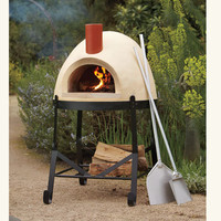 Pizza Palazzo Wood-Fired Oven & Giant Pizza Tools - NapaStyle