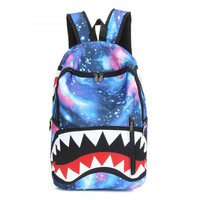The Stars at Night Big Tooth Bookbag Travel Emoji Backpack