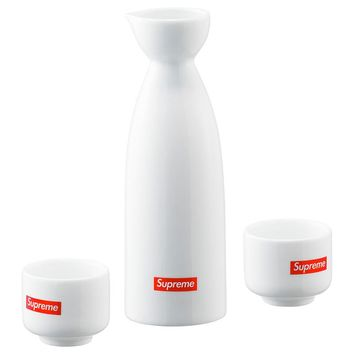 Sake Set White