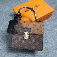 LV Louis Vuitton MONOGRAM CANVAS Spring Street INCLINED SHOULDER BAG