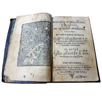Antique Magic and Jugglery Book, Pablo Minguet circa 1733
