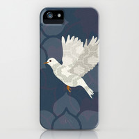 White Dove iPhone & iPod Case by Lorri Leigh Art