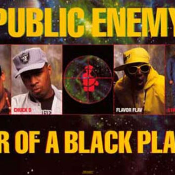 Public Enemy Fear of A Black Planet 1990 Poster 23x35