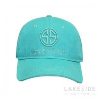 SS Logo Hat in Aruba | Lakeside Cotton