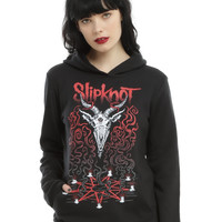 Slipknot Goat Head Girls Hoodie