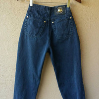 VERSACE- Vintage Versace High Waisted jeans