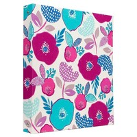 Greenroom 1.5in Ring Binder Assorted Fabrics