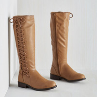 Safari Ready and Rustic Boot by ModCloth