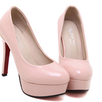 New Fashion Nobel Waterproof Stiletto High-Heel Shoes