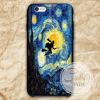 Harry Potter in Starry Night  phone case iPhone 4/4S, 5/5S, 5C Series, Samsung Galaxy S3, Samsung Galaxy S4, Samsung Galaxy S5 - Hard Plastic, Rubber Case