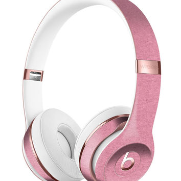 Solid Suttle Pink Surface Full-Body Skin Kit for the Beats by Dre Solo 3 Wireless Headphones