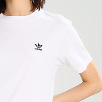ADIDAS Small Flag Women Men Tee Shirt B-KWKWM White