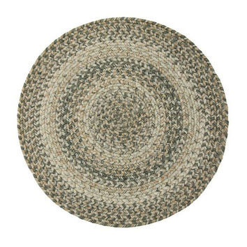 "Homespice Decor Carolina Stain Proof Trivet Rug Runner 15"""" x 15"""" Round"