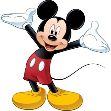 Disney Mickey Mouse Large Self-Stick Wall Accent Sticker