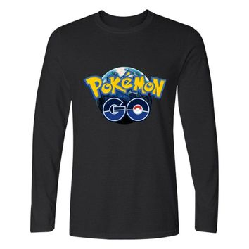 LUCKYFRIDAYF Valor Mystic Instinct  Go Tshirt For Men Women Clothing Print Pocket Monster Long T-shirt Funny Games TeesKawaii Pokemon go  AT_89_9