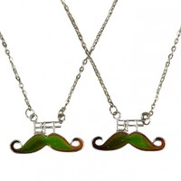 Mood Bff Mustache Necklaces | Girls Mood Shop  Jewelry By Trend | Shop Justice