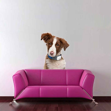 dog wall Decals dog wall decor dog Full Color wall Decals Animals wall Decals veterinary clinic decor Home Decor for kids room cik2215