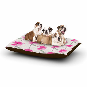 "DLKG Design ""XRay Petals"" Modern Digital Dog Bed"