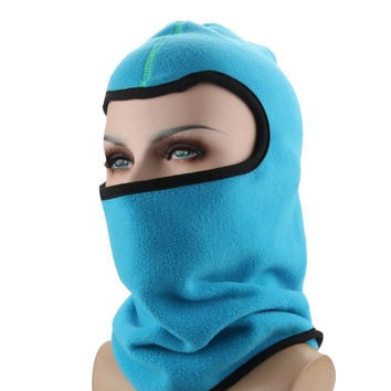 Winter Outdoor Sports Fleece Hat Thermal Ski Mask Hiking Hunting Hats For Men Mosquito Hat Cycling Caps uv-protection-hat