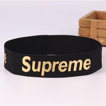 MOSCHINO JADIOR SUPREME Fashionable Sport Running Headband Hair Band