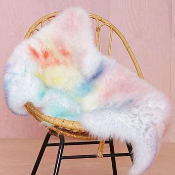 Watercolor Sheepskin