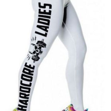 Skull Leggings For Women Active and Letter Bodycon Sport FREE SHIPPING !!!
