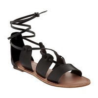 Lace-Up Gladiator Sandals for Women | Old Navy