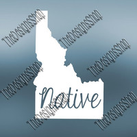 Idaho Home State Svg Dxf Pdf Jpg Cut File | Idaho pdf File | Love JPG Sticker | Svg Dxf Jpg Jpeg  PDF | Digital Download | Silhouette | 523
