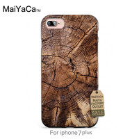 knock on wood Classic image paintings cover mobile phone For iPhone 7s plus 7plus case