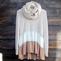 ruffle me up sweater tunic (4 colors) Day-First™