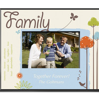 Nature's Song Picture Frame - Family