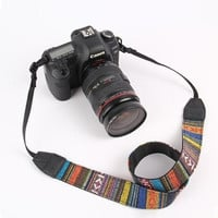 Cool Aztec Ethnic Camera Straps Retro Vintage Neck Strap