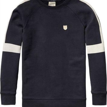 VONES0 Scotch & Soda Boys Navy Sweatshirt
