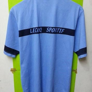 Vintage 90's Lecoqsportif Golf Collections Polo T-Shirts