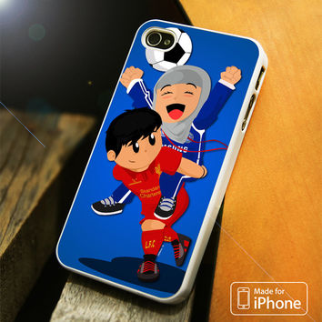 Chelsea Girl And Liverpool Boy Anime iPhone 4 | 4S, 5 | 5S, 5C, SE, 6 | 6S, 6 Plus | 6S Plus Case