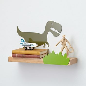 Dino Might Wall Shelf|The Land of Nod