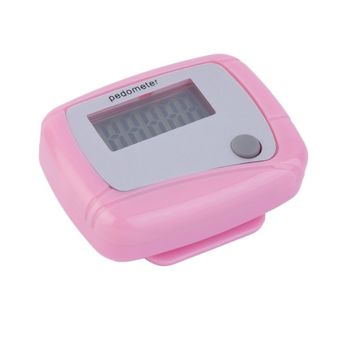 Portable Mini Digital LCD Running Step Pedometer