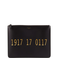 Codification Leather Pouch, Black - Givenchy