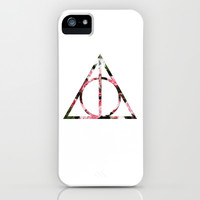 The Girly & Deathly Hallows iPhone & iPod Case by Enyalie