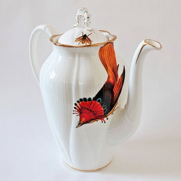 Beautiful Bird Teapot