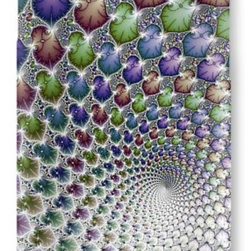 Into The Vortex Colorful Fractal Art IPhone 7 Case