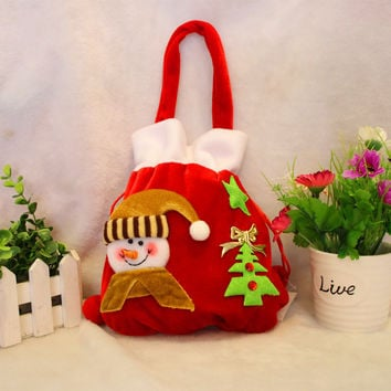 Christmas Decoration Luxury Velvet Gift Bag [9199617156]