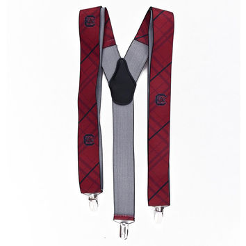 South Carolina Gamecocks NCAA Oxford Mens Suspenders